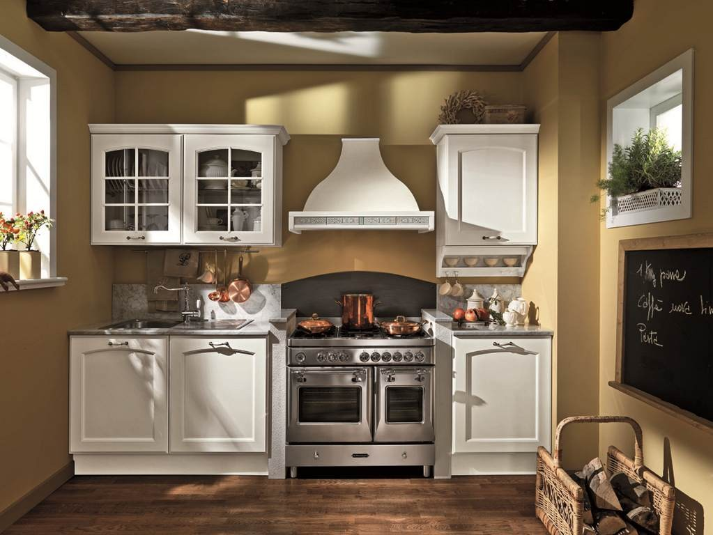 Cucina Classica Tarmina 08 - Arredamento mobili e cucine