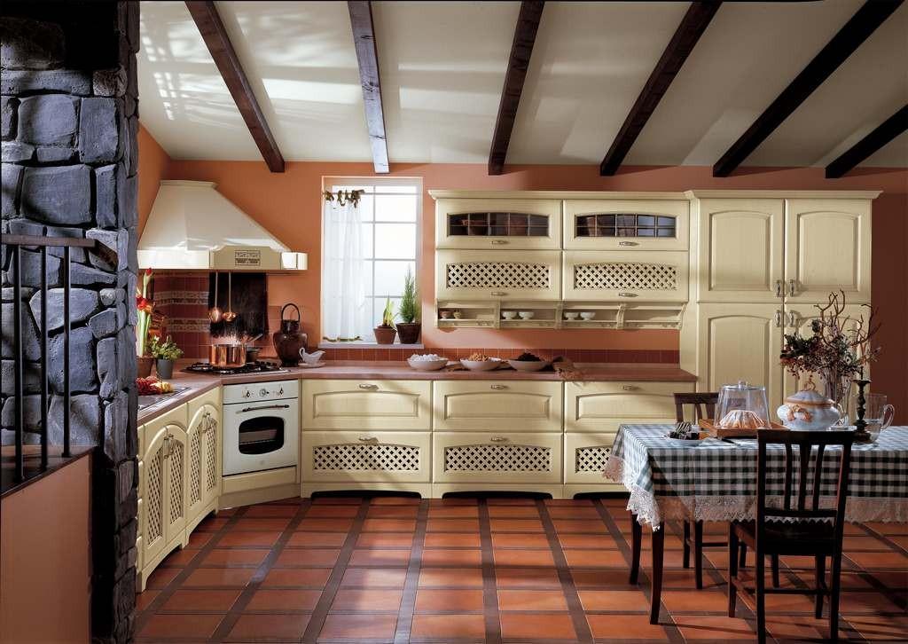 cucina classica elena 03 - arredamento mobili e cucine pesaro - Cucine Classiche Componibili