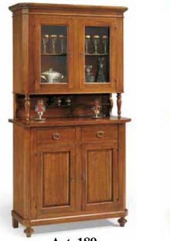 Credenza in legno 2 ante - Mobili e cucine Arte Povera
