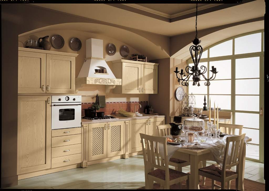 Cucina classica provenza 02 arredamento mobili e cucine - Arredamento cucina classica ...
