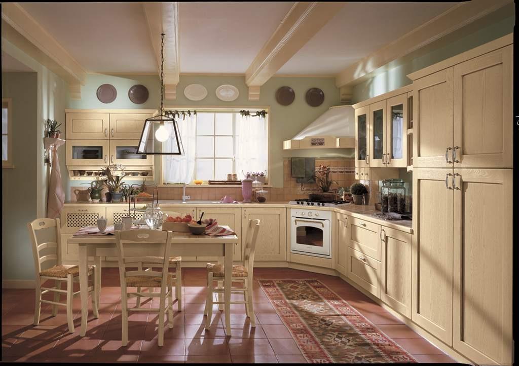 Cucina classica provenza 01 arredamento mobili e cucine - Cucine provenzali moderne ...