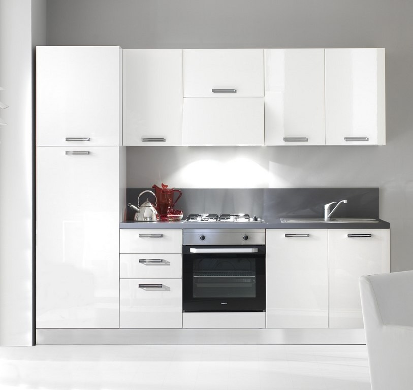 Offerta cucine complete arredamento mobili e cucine pesaro - Cucine componibili bianche ...