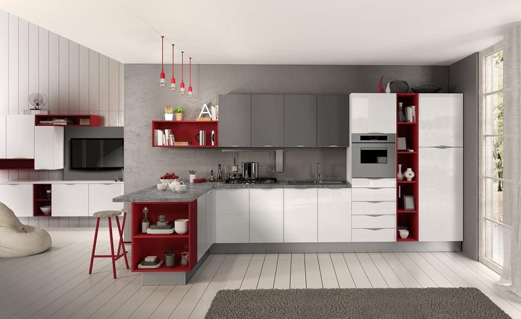 Cucina moderna mobili e cucine arredamento for 03 mobili pesaro