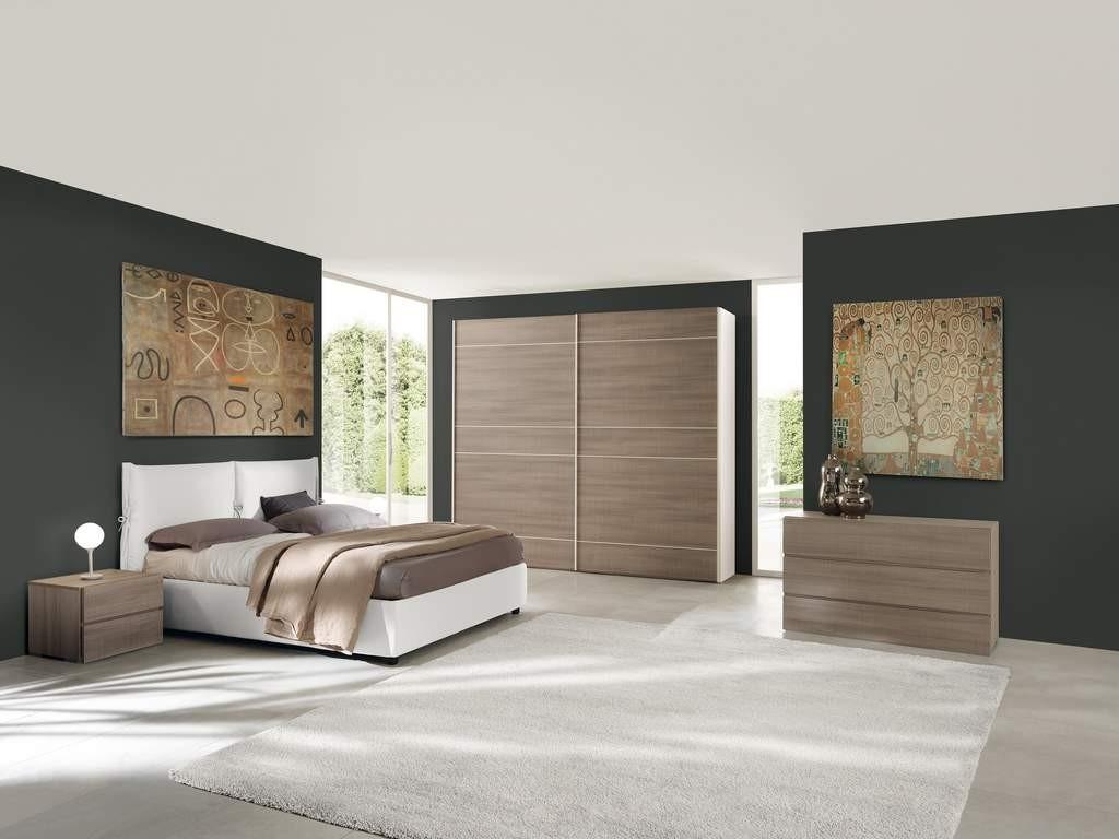 Camere da letto matrimoniali in larice bianco for Camere da letto moderne offerte