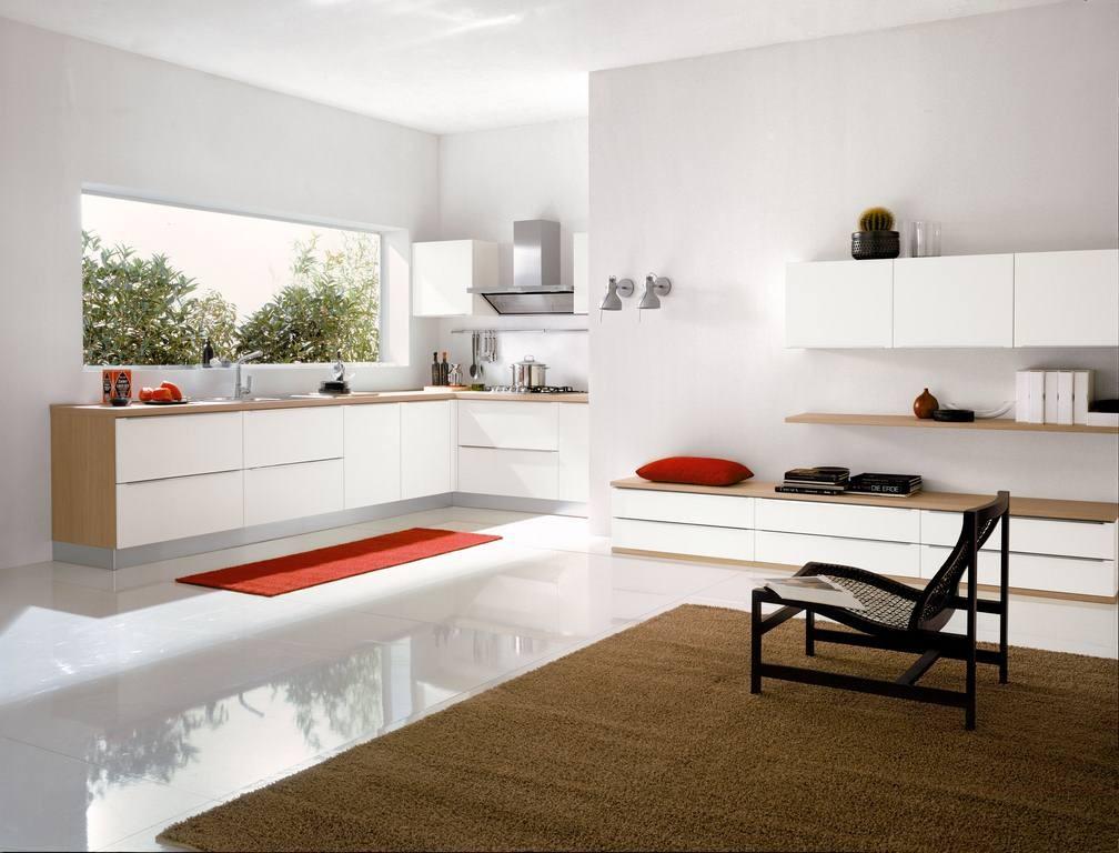 Cucina moderna mirror mobili e cucine - Cucine sotto finestra ...