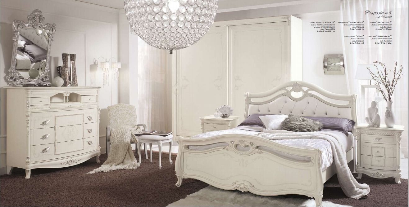 Camera matrimoniale tamburato arredamento mobili e for Camere da letto bianche