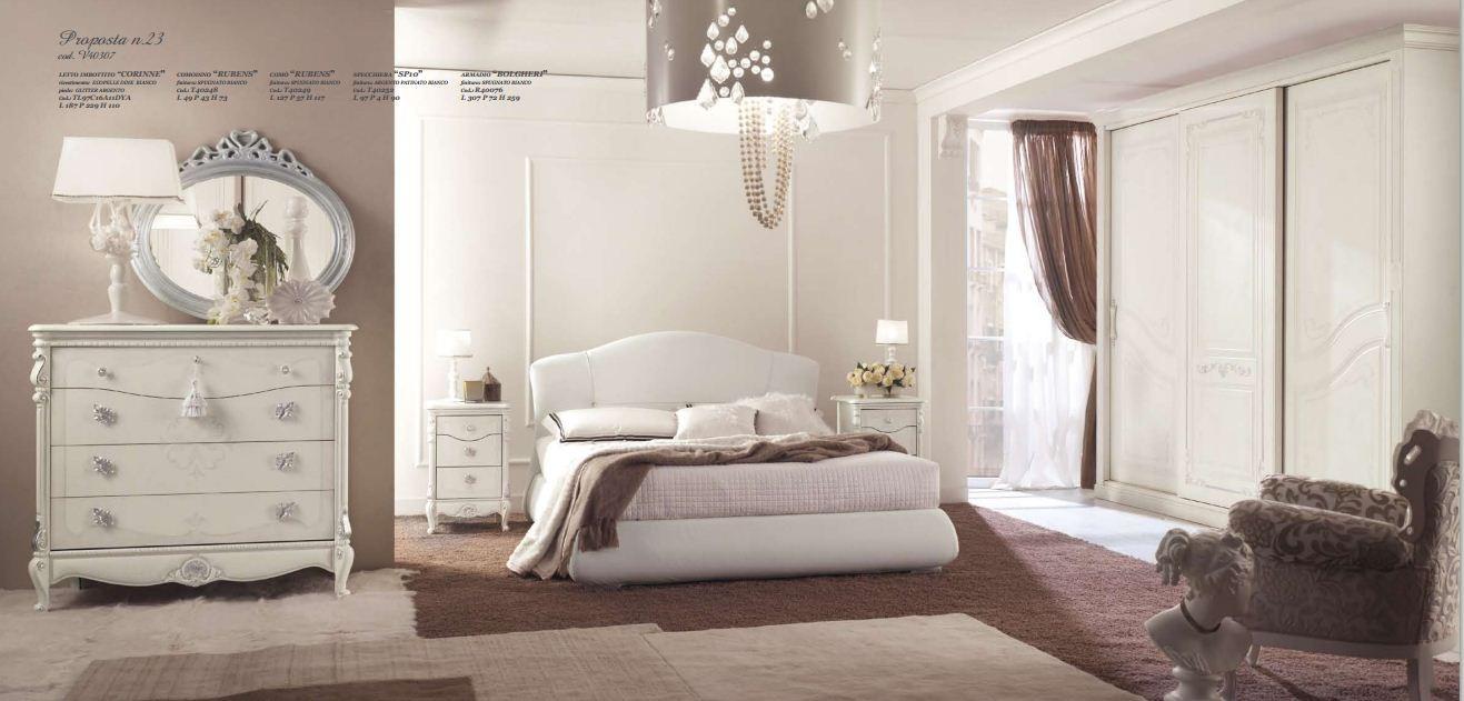 Camera matrimoniale tamburato arredamento mobili e - Mobili camere da letto classiche ...