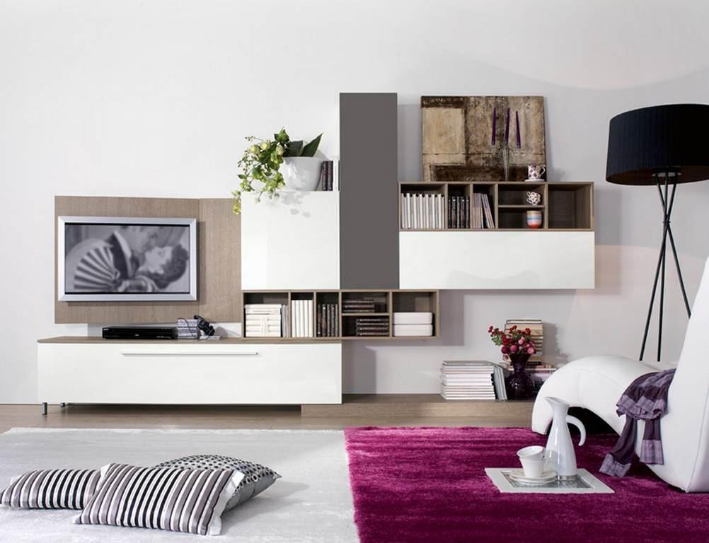 Soggiorno Rosa - Arredamento mobili e cucine