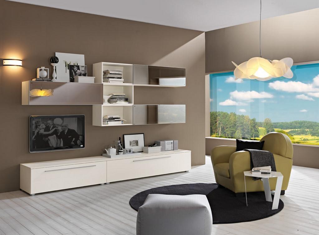 Idee creative su interni e mobili - Idee mobili soggiorno ...
