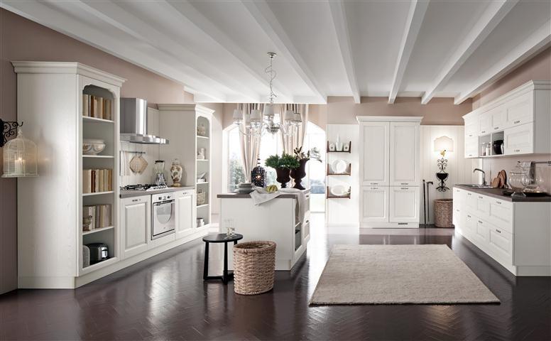 Cucina siviglia arredamento mobili e cucine - Pittura per cucina classica ...