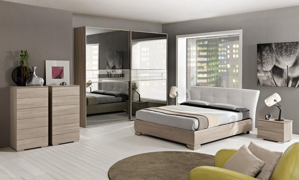 Camera da letto completa epsilon arredamento mobili e for Camere matrimoniali complete