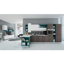 Cucina componibile moderna 16