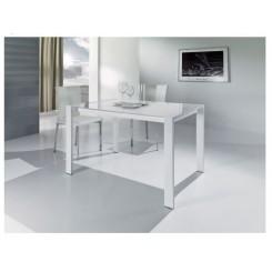Tavolo Laccato Lucido Bianco 01